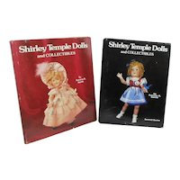 Set of 2 Shirley Temple Dolls and Collectibles Books