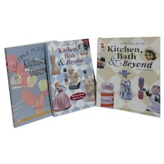 Set of 3 Paperback Books on Collectibles for Kitchen, Bath and Beyond