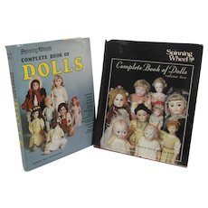 Two Books on Doll Collecting Spinning Wheel's Volumes 1 & 2