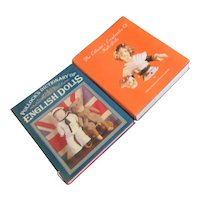 Set of 2 Books on Dolls, Dictionary and Encyclopedia