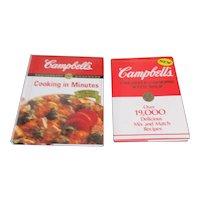 Set of 3 Campbell's Soup Cookbooks
