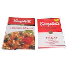 Set of 3 Campbell's Soup Cookbooks