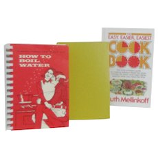 Set of 3 Easy Recipes Cookbooks