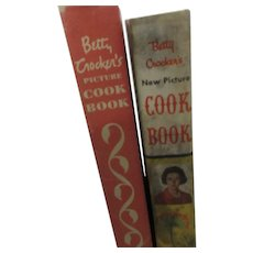 Two Betty Crocker Picture Cook Books 1950, 1961