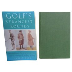 Pair of Books on Golf