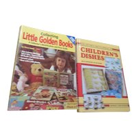 2 Books on Collecting Children's Items: Books and Dishes