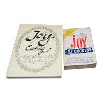 Set of 2 Joy Cookbooks