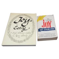 Set of 2 Joy Cookbooks