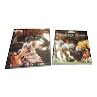 Set of 2 Hardback Sports Illustrated Books