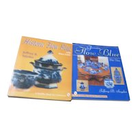 Set of 2 Paperback Books on Flow Blue China