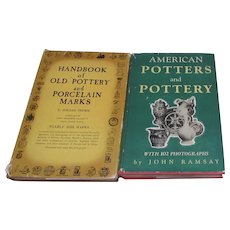 2 Hardback Books on Pottery