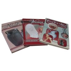 Set of 3 Hardback Books on Collecting Pottery