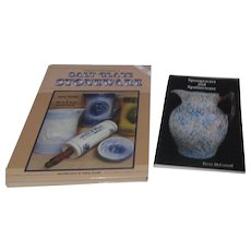 Pair of Books on Collecting Spongeware, Spatterware, Stoneware and Salt Glaze