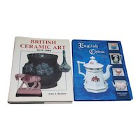 2 Books on British China & Ceramic Art