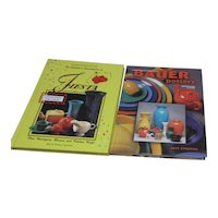 Pair of Hardback Books on Collecting Fiesta Ware and Bauer Pottery