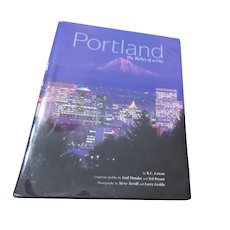 Portland The Riches of a City Hardback Book