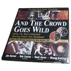 And the Crowd Goes Wild Book with 2 CD's