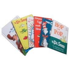 Set of 6 Dr. Seuss Books
