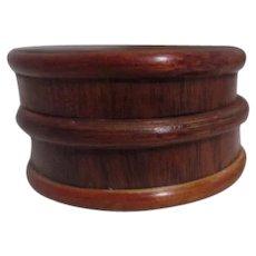 Small Round Wood Box