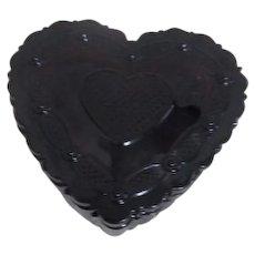Avon Cape Cod Heart Shaped Trinket Box