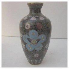 Vintage Japanese Cloisonne Vase Antique
