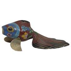 Cloisonne Fantail Goldfish