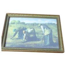 Wood Framed Print of The Gleaners
