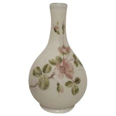 Mount Washington White Satin Glass Vase