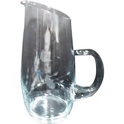 Princess House Crystal Water Pitcher Heritage Pattern