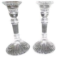 Lenox Crystal Candlestick Pair