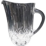 Crystal 46oz Water or Juice Pitcher