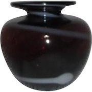 Amethyst Art Glass Vase