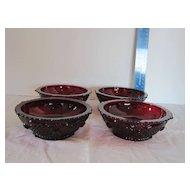 Avon's Cape Cod Collection Dessert/Fruit Bowls (Set of 4)