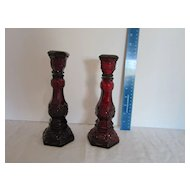 Avon Cape Cod Collection 2 Large Candle Holders