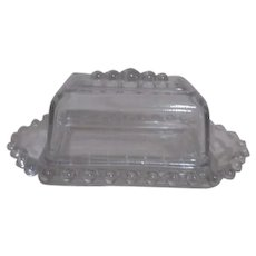 Imperial Candlewick Quarter Pound Covered Butter Dish