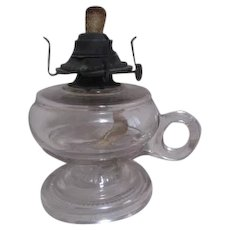 EAPG Finger Oil Lamp