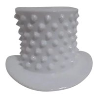 Fenton Milk Glass Hobnail Top Hat