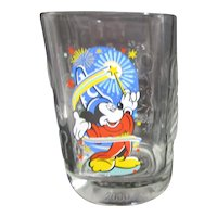 Mickey Mouse Millennium Disney World Glass