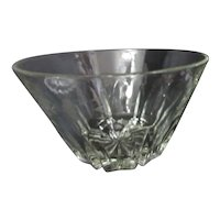 Princess House Crystal Salad Bowl