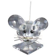 Swarovski Crystal Mouse