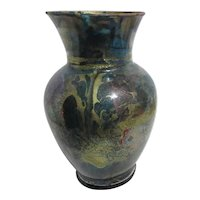 Sandra Williams Collector's Gallery Carmel-By-the-Sea Glass Vase