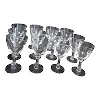 Fostoria Nosegay Water Goblets Set of 12