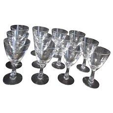 Fostoria Nosegay Water Goblets Set of 12