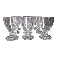 Fostoria American Lady Clear Set of 9 Oyster or Fruit Cocktail Goblets