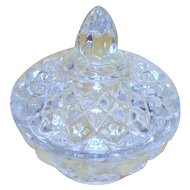 Lenox Crystal Trinket Holder/Vanity Bowl