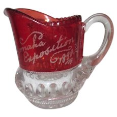 1898 Omaha Exposition Small Pitcher