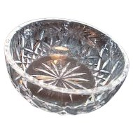 """Waterford Crystal 5"""" Round Bowl"""