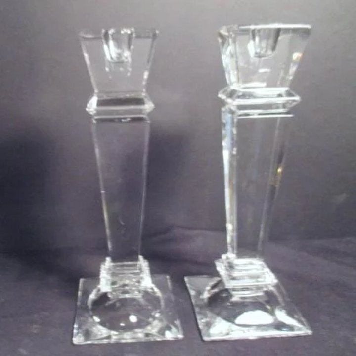 Pair Of Shannon Crystal Designs Of Ireland Candlesticks Something