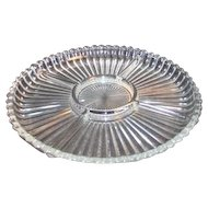 5 Part Clear Glass Divided Relish Dish