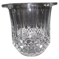 Heavy Clear Glass Champagne/Wine Ice Bucket